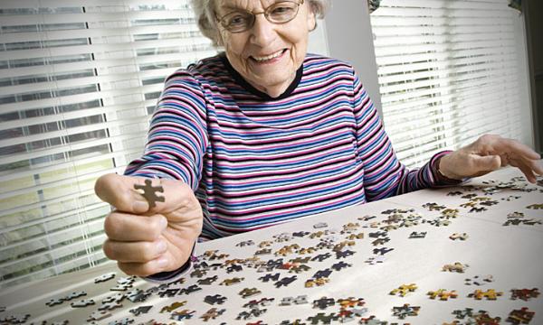 Quebra-cabeça para idosos