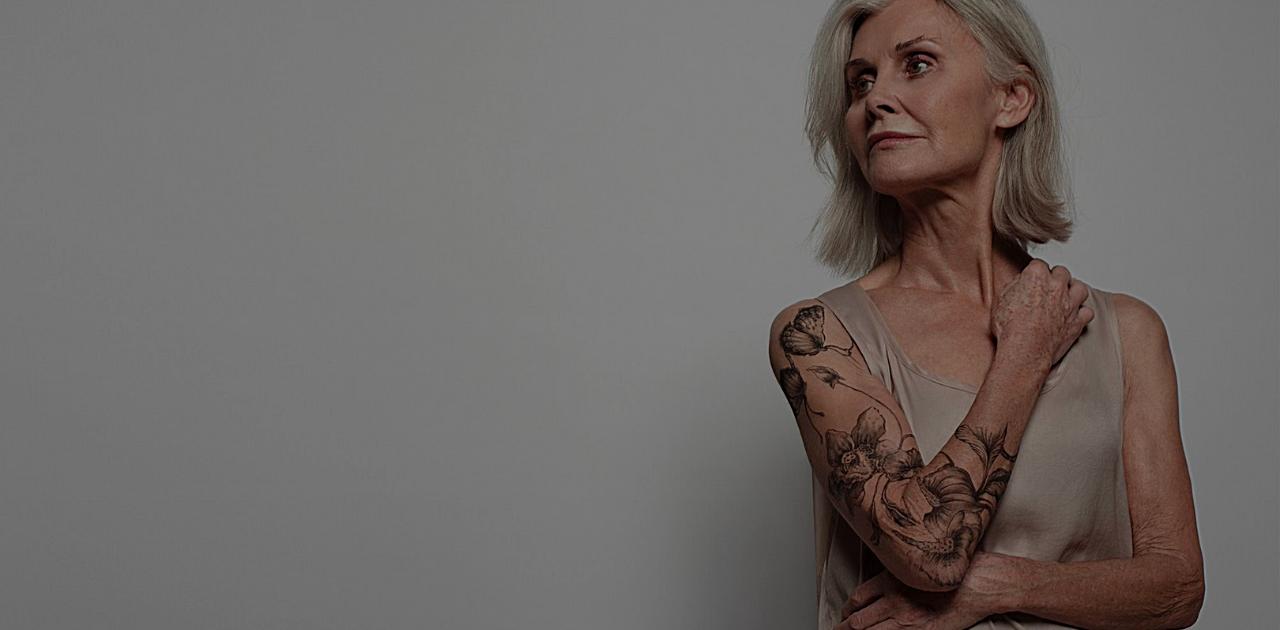 Tatuagem para idosos