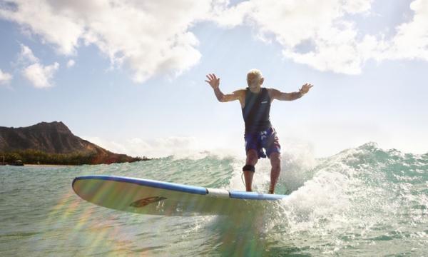 Surfar para idosos